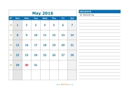 may 2016 calendar sunday 03