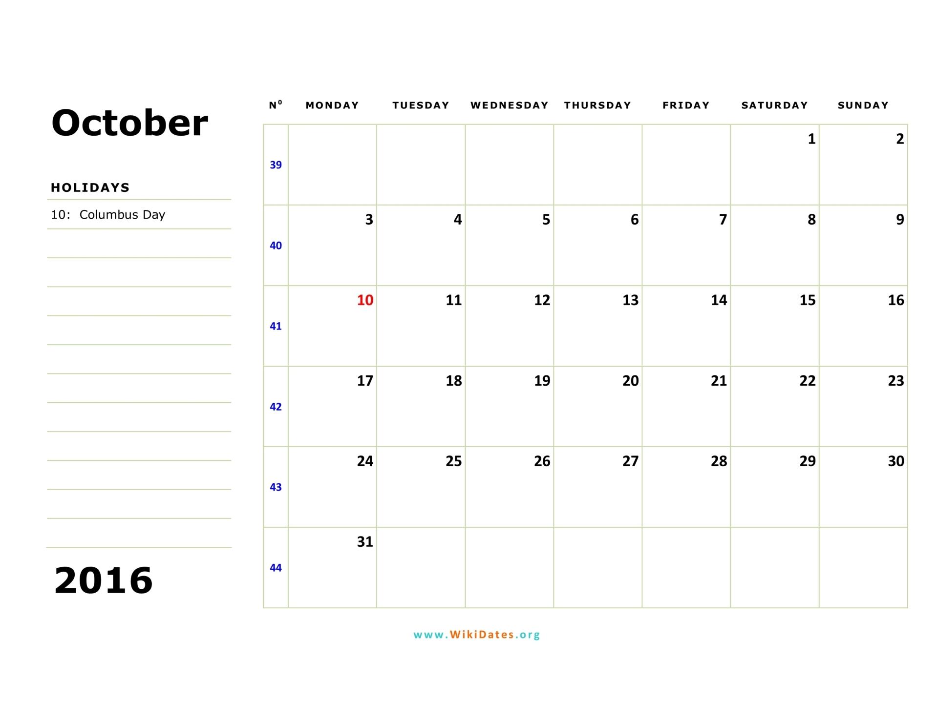 2017 Monthly Calendar - CalendarLabs