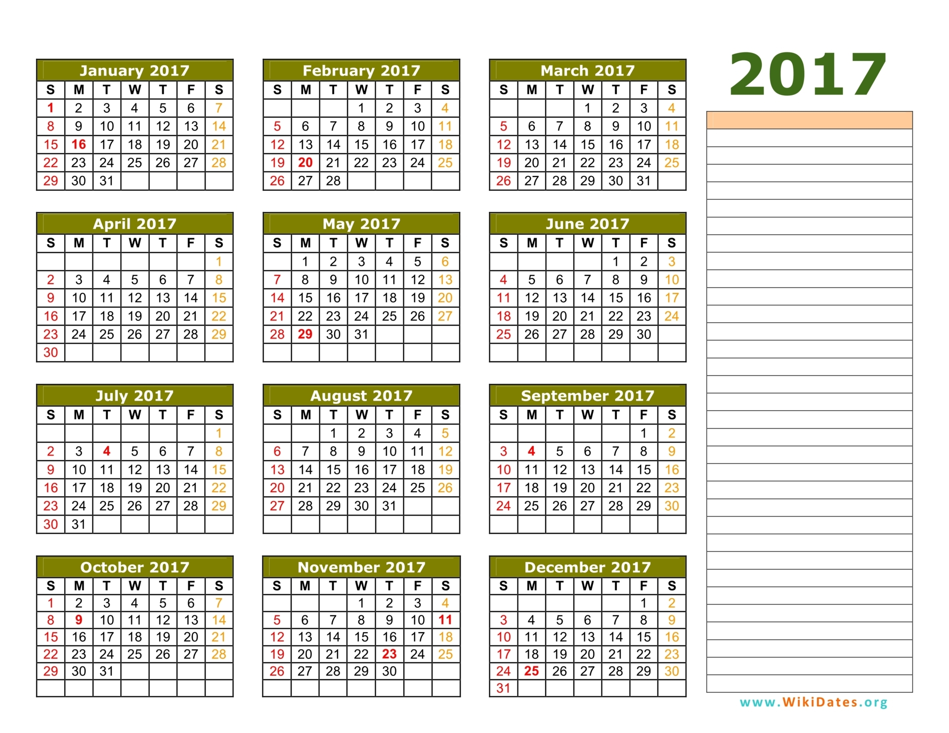 "Search Results for ""One Week Calander Template"" – Calendar ..."