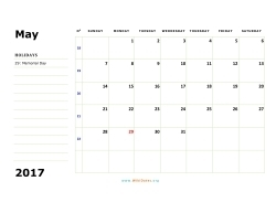 may 2017 calendar sunday 02