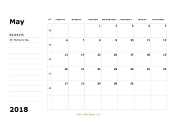 may 2018 calendar sunday 02