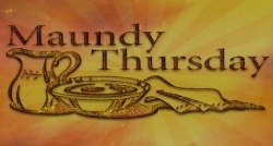 Image result for maundy thursday 2019