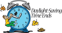 Daylight Saving Ends 2026